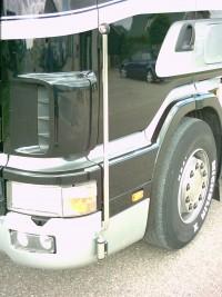 Breedte stokken Scania 4 Serie