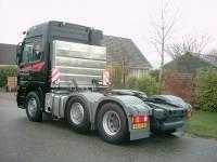 brandstoftank achterzijde cabine voorloopas 600 liter