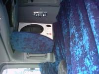 Magnetronplank bekleed met grandessa blauw Mercedes Benz Actros MP2