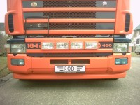 Lampen in grille SCANIA 4SERIE